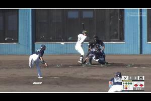 【3回裏】ソフトバンク2点目! 11/21ソフトバンクvs西武 フェニックスリーグ