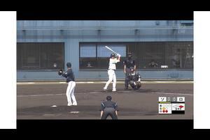 【3回裏】釜元豪、タイムリー3ベースヒット! 11/17ソフトバンク VS ロッテ フェニックスリーグ