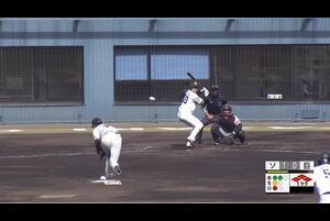 【1回裏】川瀬晃、ライトへのタイムリースリーベース! 11/28 ソフトバンク VS 巨人 フェニックスリーグ