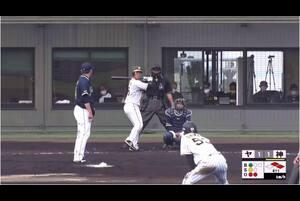 【4回裏】片山の勝ち越しタイムリー! 11/14阪神vsヤクルト フェニックスリーグ