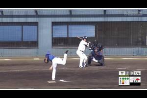 【5回裏】川端慎吾、ライトへタイムリーツーベース! 11/23ヤクルトvsDeNA フェニックスリーグ