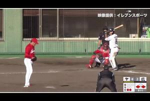 【8回裏】ヤクルト9点目! 11/28 ヤクルト VS 広島 フェニックスリーグ