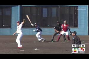 【4回表】川野涼多、同点タイムリーヒット! 11/28 楽天 VS 西武 フェニックスリーグ