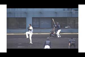 【9回表】松田進、タイムリーヒット! 11/17ソフトバンク VS ロッテ フェニックスリーグ