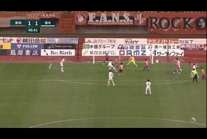 明治安田生命J2リーグ【第38節】新潟vs栃木 ハイライト