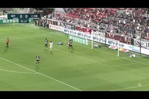 明治安田生命J1リーグ【第25節】神戸vsC大阪 ハイライト