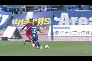 明治安田生命J2リーグ【第29節】山形vs東京V ハイライト