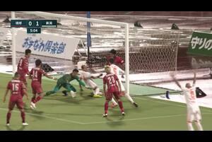 明治安田生命J2リーグ【第23節】琉球vs新潟 ハイライト