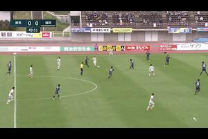 明治安田生命J2リーグ【第27節】群馬vs福岡 ハイライト