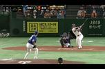 4/13【巨人vs中日】7回裏 廣岡が移籍後初ホームランで均衡破る!