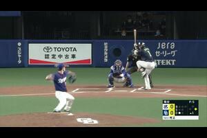 中日 vs 東京ヤクルト(バンテリンドーム ナゴヤ)のハイライト動画。