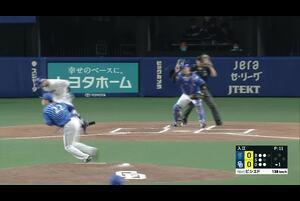 4/7 中日 vs 横浜DeNA ハイライト
