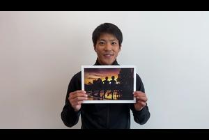 「陸上フォトコンテスト~夢と希望あふれる1シーンを大募集~」<br /> 美しい部門を担当した、山縣亮太選手(セイコー)のコメントです。