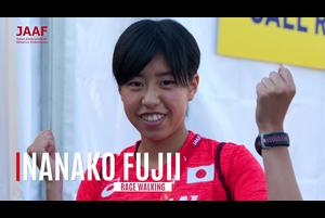 「ダイヤモンドアスリート」制度は、2020年東京オリンピックと、その後の国際競技会における活躍が期待できる次世代の競技者を強化育成することを目指すとともに、その活躍の過程で豊かな人間性とコミュニケーション能力を身につけ、「国際人」として日本、さらには国際社会の発展に寄与する人材に育つことを期して、2014-2015年シーズンに創設されました。昨年11月からは、継続競技者8名のほか、新たに3名の競技者を加えた全11名が認定され、第5期がスタートしています。<br /> <br /> <br /> 今回、第5期(2018-2019)認定アスリート、女子競歩の藤井菜々子選手(エディオン)のインタビューをお届けします。<br /> <br /> ▼ダイヤモンドアスリート特設サイト<br /> https://www.jaaf.or.jp/diamond/