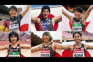 7月10日(火)~15日(日)に、フィンランド・タンペレ市のタンペレ・スタジアムで開催された第17回U20世界陸上競技選手権大会。<br /> <br /> 金メダル2、銀メダル2、銅メダル2、入賞11で、国別総合成績は7位となったチームJAPANが帰国し、メダリストの会見を行った。<br /> <br /> ・金メダル<br /> 橋岡優輝(日本大学)男子走幅跳<br /> 田中希実(ND 28AC)女子3000m<br /> <br /> ・銀メダル<br /> 高良彩花(園田学園高校)女子走幅跳<br /> 桑添友花(筑波大学)女子やり投<br /> <br /> ・銅メダル<br /> 泉谷駿介(順天堂大学)男子110mH(99.0cm)<br /> 江島雅紀(日本大学)男子棒高跳<br /> <br /> <br /> ▼第17回U20世界陸上競技選手権大会▼<br /> http://www.jaaf.or.jp/competition/detail/1265/<br /> 開催日:2018年7月10日(火)~15日(日)<br /> 会場:フィンランド・タンペレ