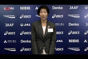 「日本陸連アスレティック・アワード2018」を開催しました!<br /> <br /> 日本グランプリシリーズチャンピオン 山ノ内みなみ(京セラ)