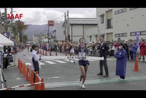 2019年10月27日(日)、山形県高畠まほろば競歩コースで開催された「第58回全日本50km競歩高畠大会 兼 東京2020オリンピック日本代表選手選考競技会」にて、川野将虎選手(東洋大学)が、日本新記録となる3時間36分45秒で優勝し、東京オリンピック日本代表に内定しました。大会の模様のダイジェストです。<br /> <br /> ▼大会ページ<br /> https://www.jaaf.or.jp/competition/detail/1391/<br /> <br /> ▼日本陸連<br /> https://www.jaaf.or.jp/