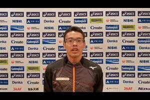 第104回日本選手権男子・女子20km競歩が、東京オリンピックの代表選考会を兼ねて、2月21日(日)、兵庫県神戸市の六甲アイランドで開催されます。<br /> <br /> 男子20km競歩でオリンピック代表に内定済みの山西利和選手(愛知製鋼、前回優勝者)の大会に向けてのコメントです。<br /> <br /> 大会の模様は、<br /> ・日本陸連公式YouTubeチャンネル(https://www.youtube.com/watch?v=Ek2uMf5MFCs )<br /> ・応援TV・日本陸連公式チャンネル(https://ohen.tv/channel/)<br /> ・日本陸連公式Twitter(https://twitter.com/jaaf_official)<br /> にてライブ配信を予定しています。<br /> <br /> エントリーや配信等、大会に関する詳細は、https://www.jaaf.or.jp/competition/detail/1506/ をご参照ください。