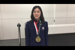 第18回アジア競技大会の陸上競技の女子20㎞競歩で銅メダルを獲得した岡田久美子(ビックカメラ)からのコメントをお届けします。<br /> <br /> <br /> 応援ありがとうございました!<br /> <br /> ▼大会詳細▼<br /> http://www.jaaf.or.jp/competition/detail/1274/<br /> <br /> ★日本陸連<br /> http://www.jaaf.or.jp/