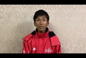 第76回びわ湖毎日マラソンにて、2時間4分56秒の史上初の4分台日本新記録をマークし優勝した、鈴木健吾選手(富士通)のレース後コメントをお届けします。<br /> <br /> ▼第76回びわ湖毎日マラソン大会ページ(陸連)<br /> https://www.jaaf.or.jp/competition/detail/1508/