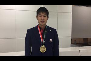 第18回アジア競技大会の陸上競技の男子4×400mリレーで銅メダルを獲得した飯塚翔太(ミズノ)からのコメントをお届けします。