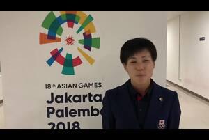 第18回アジア競技大会の陸上競技の女子マラソンで、野上恵子(十八銀行・長崎)が銀メダルを獲得しました。