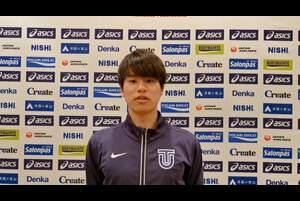 第104回日本選手権男子・女子20km競歩が、東京オリンピックの代表選考会を兼ねて、2月21日(日)、兵庫県神戸市の六甲アイランドで開催されます。<br /> <br /> 男子20km競歩でオリンピック代表に内定済みの池田向希選手(東洋大)の大会に向けてのコメントです。<br /> <br /> 大会の模様は、<br /> ・日本陸連公式YouTubeチャンネル(https://www.youtube.com/watch?v=Ek2uMf5MFCs )<br /> ・応援TV・日本陸連公式チャンネル(https://ohen.tv/channel/)<br /> ・日本陸連公式Twitter(https://twitter.com/jaaf_official)<br /> にてライブ配信を予定しています。<br /> <br /> エントリーや配信等、大会に関する詳細は、https://www.jaaf.or.jp/competition/detail/1506/ をご参照ください。