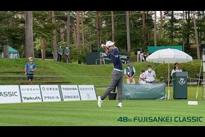 【男子ゴルフ】@金谷拓実、今平周吾、石川遼のスタートホールティショット!48thフジサンケイクラシック 1st Round