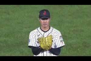 2番手・西がアメリカ打線を三者連続三振【U-18野球W杯2019/9/1】