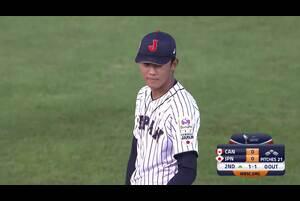 奥川が三者連続三振に抑える【U-18野球W杯2019/9/5】