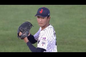侍ジャパンU-18代表は、先発・奥川が7回18奪三振の快投でカナダ打線を1失点に抑え、5-1と勝利した