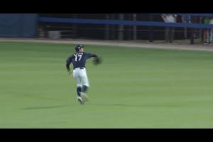 ライト・宮城の好返球でピンチしのぐ【U-18野球W杯2019/9/6】