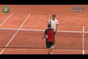【マッチハイライト】ダニエル・エバンズ vs 錦織 圭/全仏オープンテニス2020 1回戦