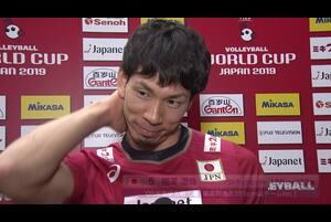 【ワールドカップバレー2019・男子】10/15 福澤達哉選手 ノーカットインタビュー