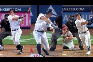 【MLB】8.4 3本のホームランで勝負を決めたヤンキース [PHI@NYY]