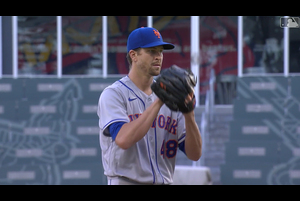 【MLB】8.4 メッツ先発デグロムが6回10奪三振の好投で今季初勝利 [NYM@ATL]