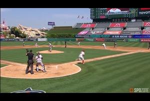 【SPOZONE MLB】<br /> 3安打を放つ活躍でリードオフマンの役割を果たしたデービッド・フレッチャーがSPOZONE Today's Match MVPに選出!攻守両面で溌溂としたプレーを見せ、チームの勝利に貢献しました!