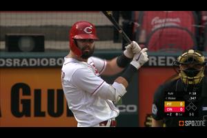 【MLB】8.15 2発を放ち打棒でチームを牽引したウィンカー [PIT@CIN]