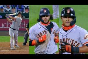 【SPOZONE MLB】<br /> 日本時間2日、ロッキーズの本拠地で行われたジャイアンツ戦で、アレックス・ディッカーソン、ドノバン・ソラーノ、ブランドン・クロフォードの3選手がそれぞれ6打点の合計18得点の活躍。<br /> 試合は23-5でジャイアンツが勝利した。