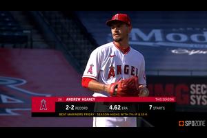 【SPOZONE MLB】勢いのあるパドレス打線を相手に7回を無失点に抑える完璧な投球で3勝目を挙げています!!