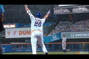 【SPOZONE MLB】延長10回の裏に劇的なサヨナラ2ランホームラン!!昨季のホームランキングが持ち前のパワーで魅せました!!