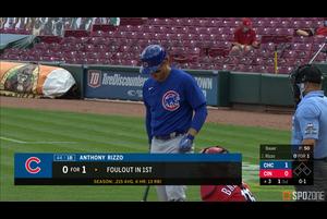 【SPOZONE MLB】カブスのリゾーは2本のソロホームランでダルビッシュ有を援護した。