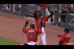 【MLB】8.1 8回裏 一挙5得点の猛攻で試合をひっくり返したブレーブス [NYM@ATL]