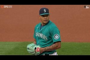 【MLB】8.1 7回無失点8奪三振と圧巻の投球を見せたウォーカー [OAK@SEA]
