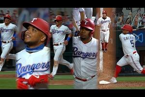 【MLB】レンジャーズ 8回に一挙5得点を奪い逆転勝利 8.13 マリナーズ@レンジャーズ