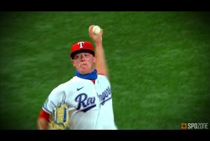 【MLB SPOZONE】現地時間8月8日のエンゼルス戦に先発したレンジャーズのアラードは、5回を投げて無失点、6奪三振と好投し、チームの勝利に貢献した。