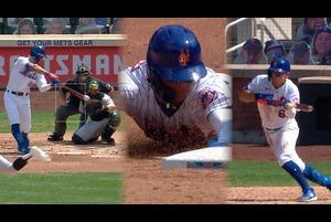 【MLB】メッツ 3安打1盗塁のアンドレス・ギメネス 勝利に貢献 8.10 マーリンズ@メッツ