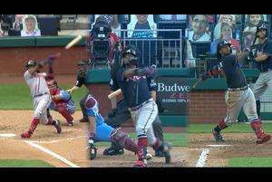 【MLB】ブレーブス アクーニャJr. ダブルヘッダーの2試合で3本塁打の活躍 8.10 ブレーブス@フィリーズ