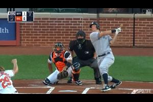 【MLB】7.30 先頭打者弾含む4安打と打棒が火を噴いたレメイヒュー [NYY@BAL]