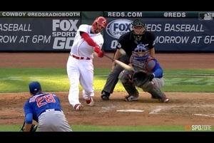 【MLB】7.30 4回裏 復帰戦でホームランを放つムスターカス [CHC@CIN]